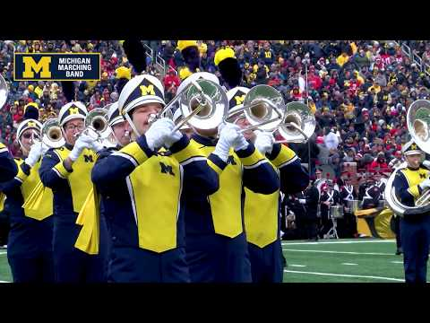 """Welcome To The Roaring 20's!"" - November 30, 2019 (MC) - The Michigan Marching Band"