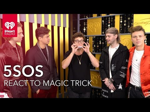 5SOS Hilarious Reaction To Magic Trick  2018 iHeartRadio Music Festival