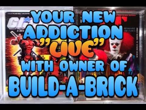WHAT IS MORE ADDICTING THAN FUNKO POPS? LET ME SHOW YOU LIVE WITH OWNER OF BUILD-A-BRICK
