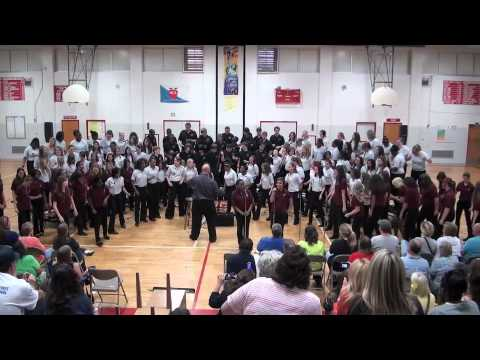 Forever Motown West Middle School Spring Concert 2012