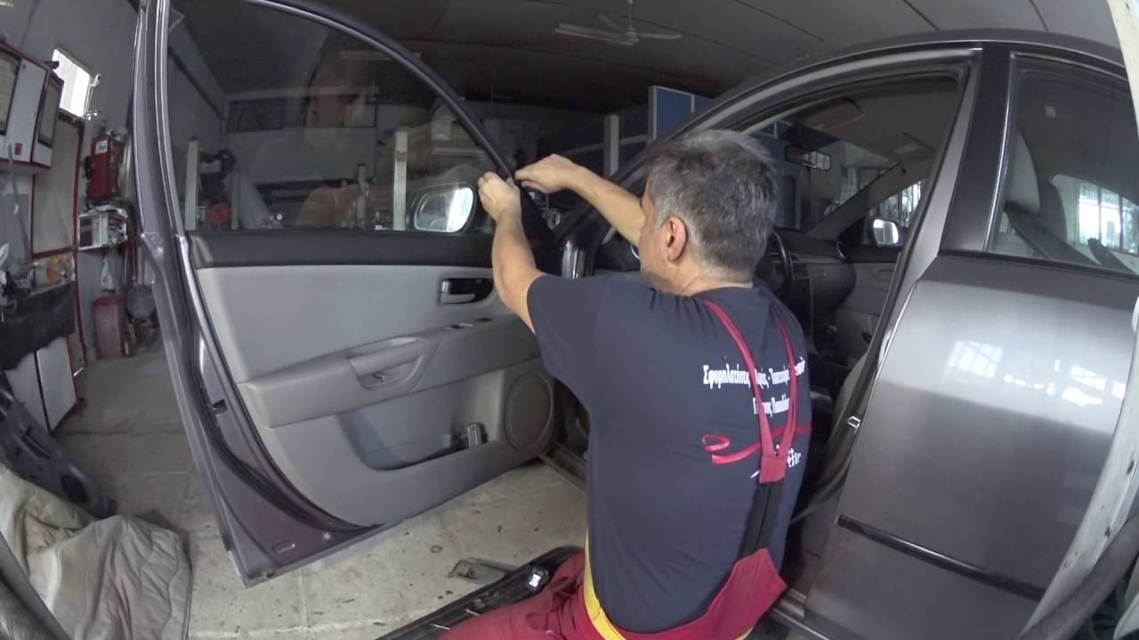 Mazda 3 Door Panel Removal Youtube