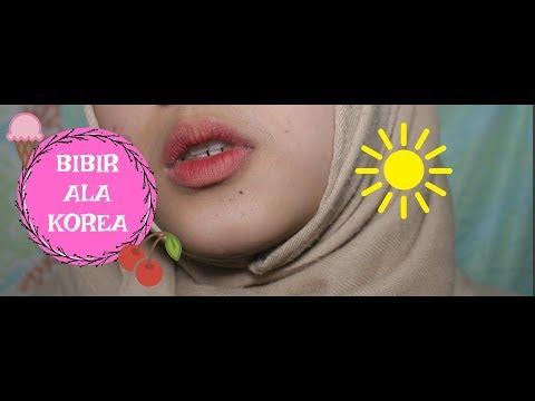 cara-membuat-ombre-lips-|-tutorial-gradient-lips-|-annisa-alkhumairah