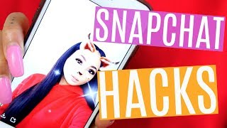 7 SNAPCHAT HACKS THAT YOU NEED TO TRY!