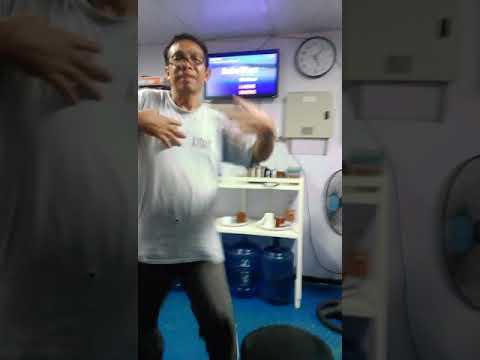 Chief engineer dancing king