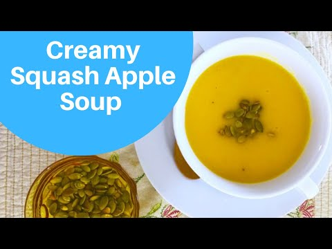 CREAMY SQUASH APPLE SOUP