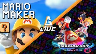 Mario Maker Garbage + Mario Kart Tournament Afterwards thumbnail