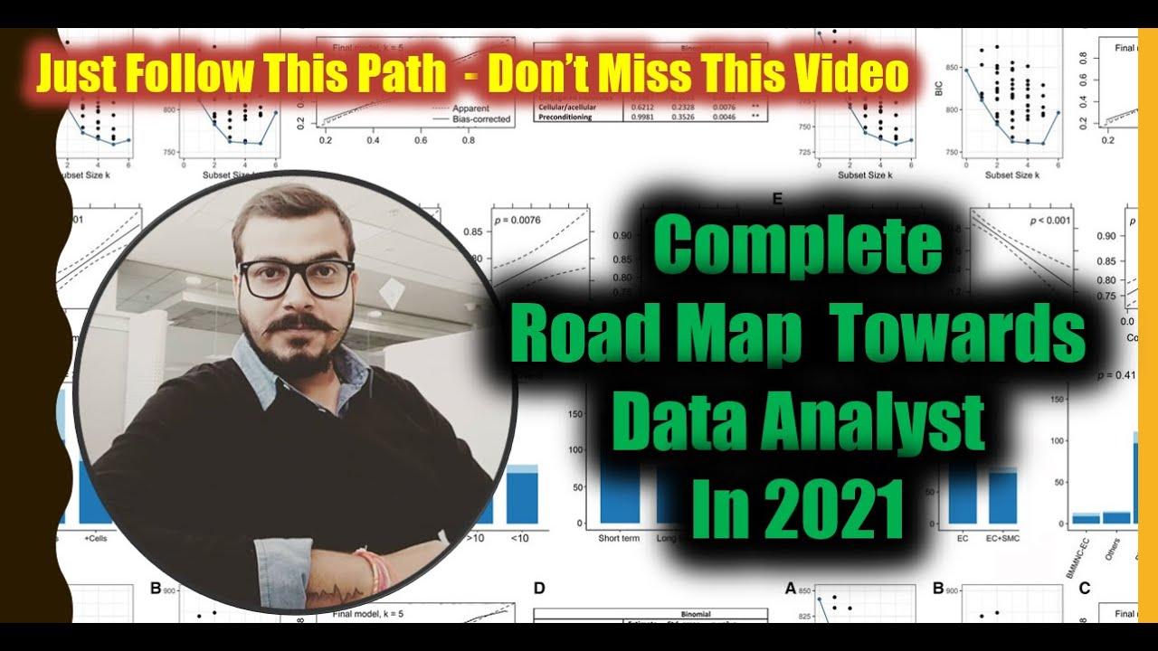 Complete RoadMap Towards Data Analyst In 2021
