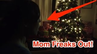 The REAL Santa Claus Caught on Tape (Parents Freak Out!)