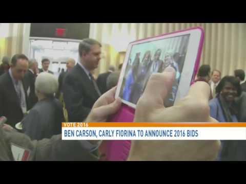 Carly Fiorina announces 2016 GOP presidential bid