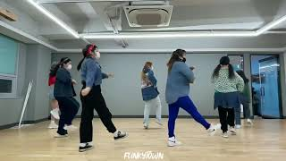 #롤리폴리#티아라#레트로댄스# 펑키타운댄스#롤리폴리안무#레트로안무#대전댄스학원