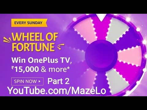 Amazon Wheel Of Fortune Quiz Answers Today 19 April 2020 Win