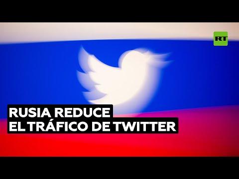 Rusia ralentiza el tráfico de Twitter y amenaza con bloquear su servicio