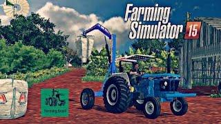 Farming Simulator 2015 - NOVO MAPA BRASILEIRO, FAZENDA IPÊ