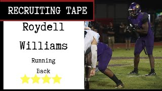 Bama Rb Commit, Roydell Williams, Rushes For 3 Tds