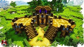 Minecraft Timelapse - Multiplayer Base! - (WORLD DOWNLOAD)