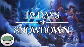 Repeat youtube video 12 Days of Snowdown - The Yordles (Parody)
