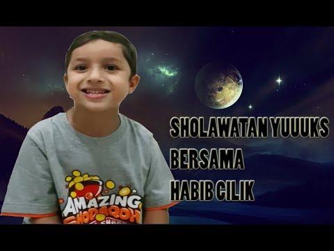 Habib Cilik Ganteng Bersholawat Cucu Habib Syech Bin Abdul Qodir Assegaf Yik Muhammad Hadi