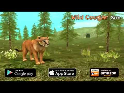 Wild Cougar Sim 3D: Game Trailer for iOS and Android