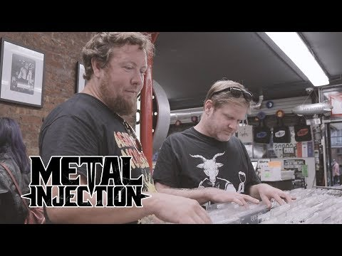 PIG DESTROYER Goes Shopping At GENERATION Records | Metal Injection