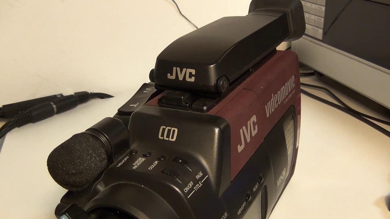 Jvc Videomovie Gr-65 Vhs-c Camcorder
