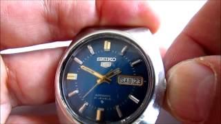 Вінтажні Seiko 5 Автоматичний 21 Коштовності, Наручний Годинник