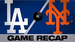 Davis' 3-run double lifts Mets past Dodgers | Dodgers-Mets Game Highlights 9/14/19