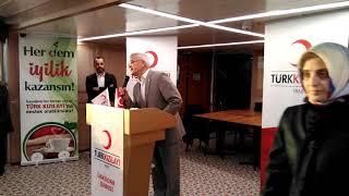 Şube başkanımız Dr. Mustafa Karadeniz'in konuşması