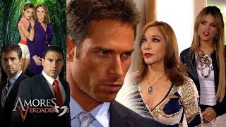 Amores Verdaderos: ¡La madre de Guzmán se infiltra en la casa Balvanera! | Escena - C38 | Tlnovelas