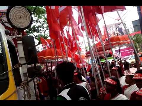 Kerala raksha march cpim chavakkad