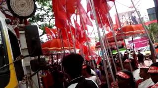 Kerala raksha march cpim chavakkad