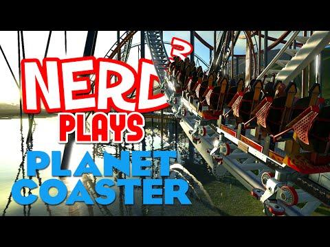 Nerd³ Plays... Planet Coaster Alpha 3 - Getting Wet