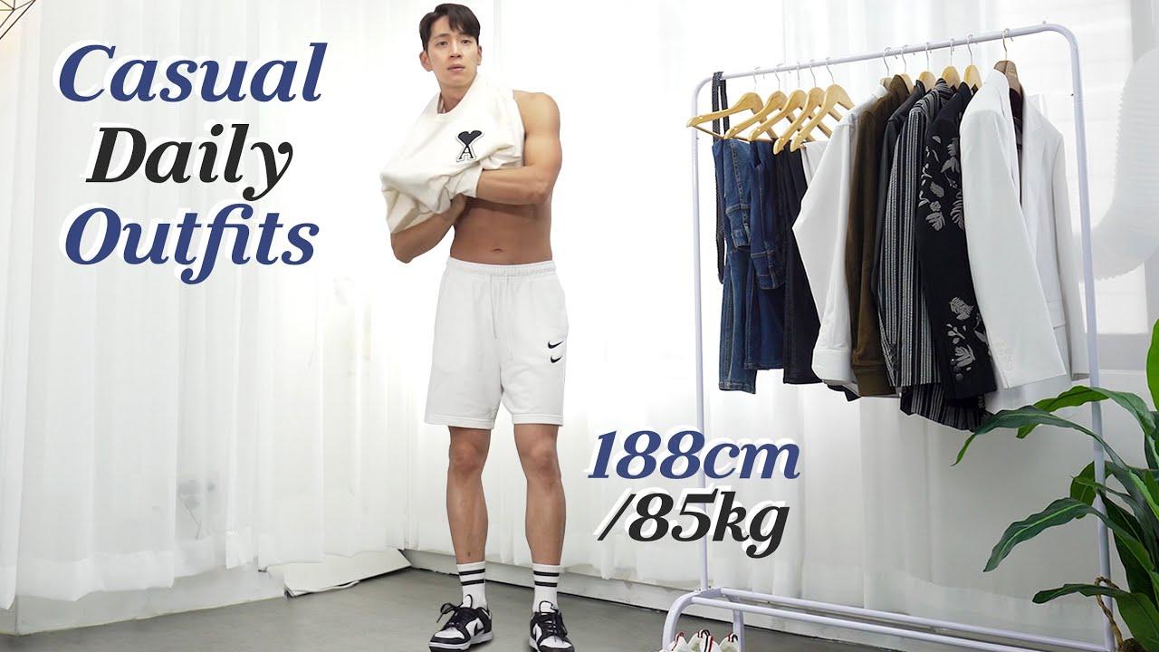 How to Look More Attractive l Casual Outfit Ideas l 비주얼 훈남 오빠 꾸안꾸 패션 룩북   캐주얼룩 남자코디 데일리룩 남친룩