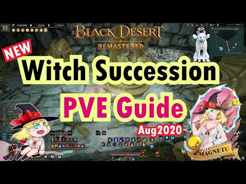 [Eng Sub] NEW!! Witch Succession PVE Guide - BDO Aug.2020