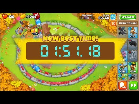Bloons TD6 Race - In 151 One For All and All For One