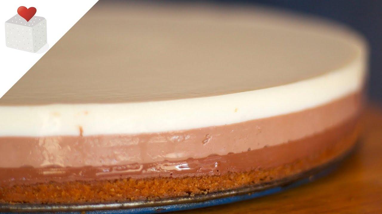 C mo hacer paso a paso una tarta tres chocolates con base for Como hacer una alberca paso a paso