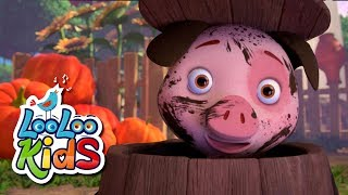 Wake Up, Pinky Pig! - THE BEST Songs for Children | LooLoo Kids