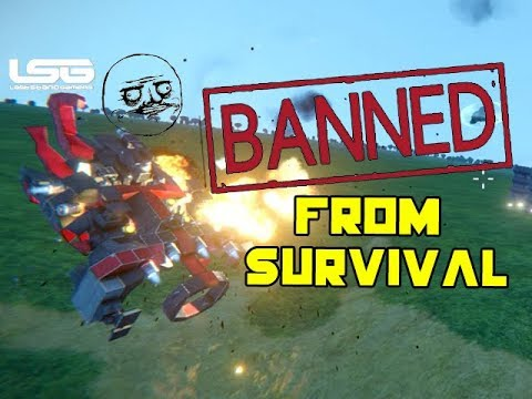 Banned From Colony Survival - Space Engineers  