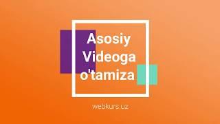 Скачать Webkurs Uz Biz Bilan Qulay Sayt Yarating