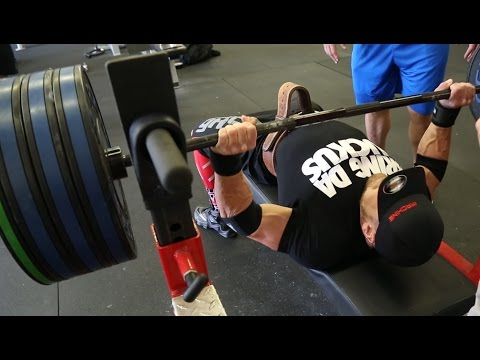 INCREASE YOUR BENCH PRESS NOW! TIPS From Mark Bell: Featuring Marc Lobeliner