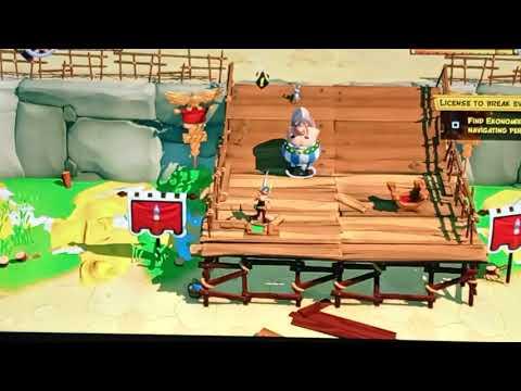 Asterix & Obelix XXL3. THE CRYSTAL MENHIR. Full version part1 episode1 |