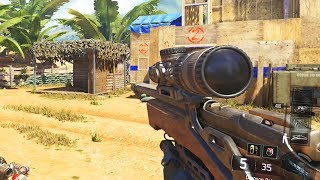 The New Sniper Rifle in Black Ops 3..