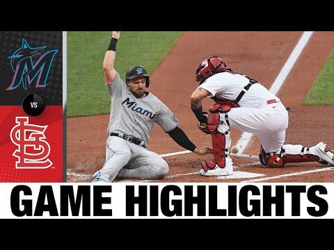 Marlins vs. Cardinals Game Highlights (6/14/21) | MLB Highlights