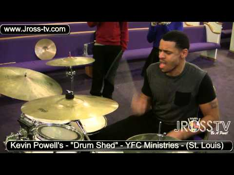 "James Ross @ Kenyon Sanders & Benny Rich - ""Kevin Powell's Drummers Shed"" - www.Jross-tv.com"