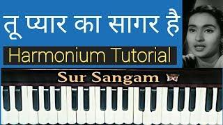Tu Pyaar Ka Sagar Hai.. I Harmonium I Piano I Keyboard I Sur Sangam I Bhajan