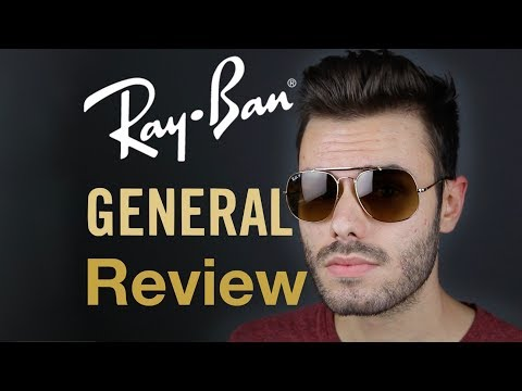 80b752c62f Ray-Ban General Review - YouTube