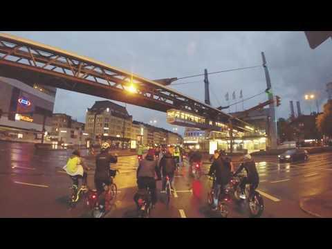 Critical Mass Wuppertal - Autofreier Tag 2018