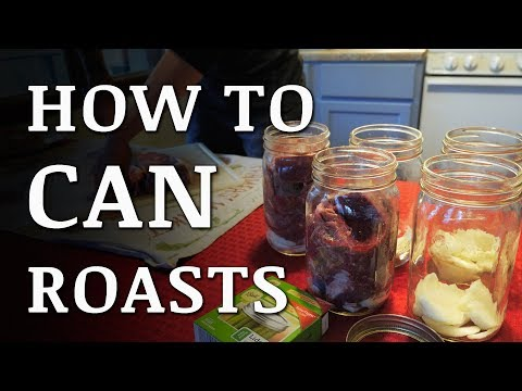 Pressure Canning ROAST BEEF...and Other Meat