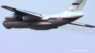 ИЛ-76 Взлет Takeoff Жуковский Раменское(, 2015-06-22T20:51:24.000Z)