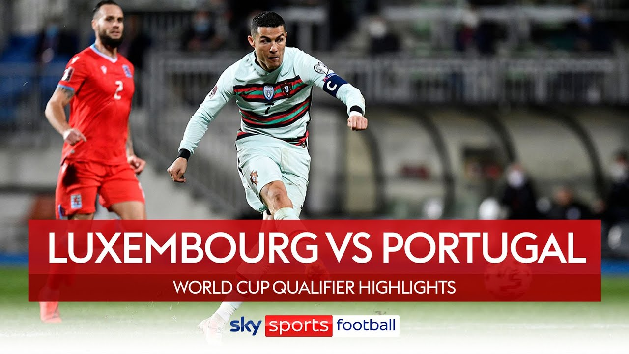 Luxembourg 1 - 3 Portugal 2022 FIFA World Cup Qualifiers Highlights