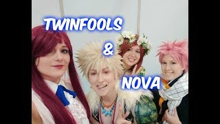 Interview with Twinfools & Nova! - FightingDreamers Productions